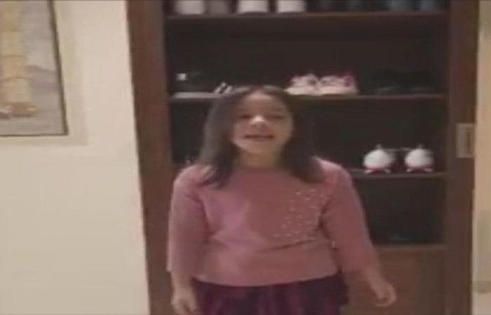 ابنا البرازيلي إلتون يرددان النشيد السعودي
