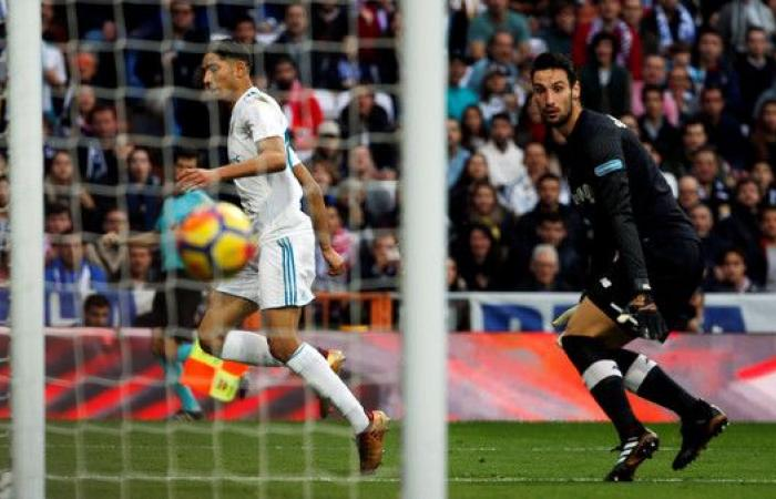 ريال مدريد يستعرض قدراته في مرمى أشبيلية