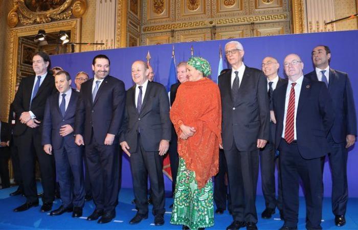 مؤتمر باريس جرعة دعم سياسية جديدة للبنان