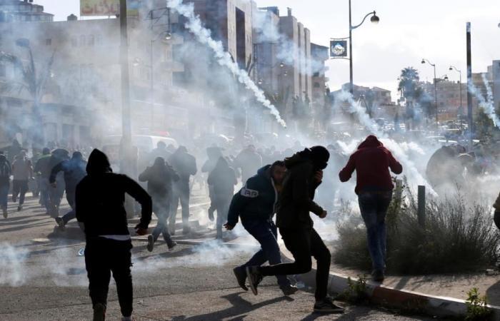 تجدد المواجهات ومظاهرات الغضب الفلسطينية