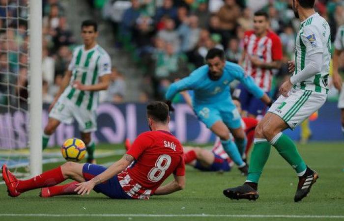 ساؤول يعيد أتليتكو مدريد إلى المركز الثالث