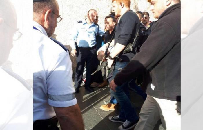 طعن حارس إسرائيلي بالقدس واعتقال المنفذ