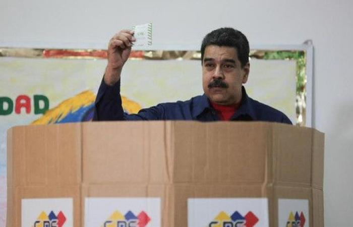 رئيس فنزويلا يقصي المعارضة من انتخابات الرئاسة المقبلة