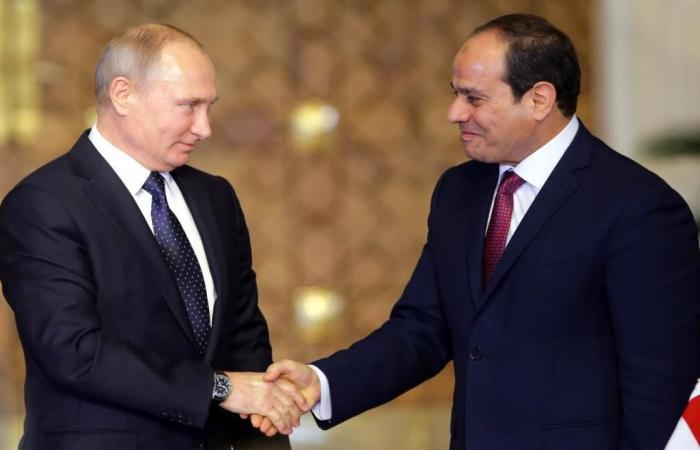 بوتين والسيسي يبحثان القدس وسوريا وليبيا