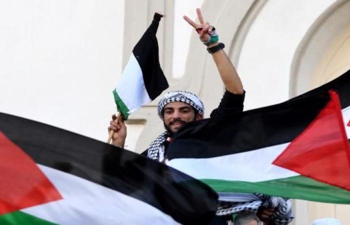 فلسطين في قلب تونس