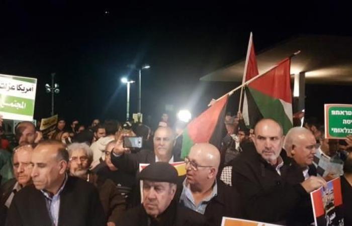 الغضب الفلسطيني يتواصل لليوم السابع  ضد قرار ترامب