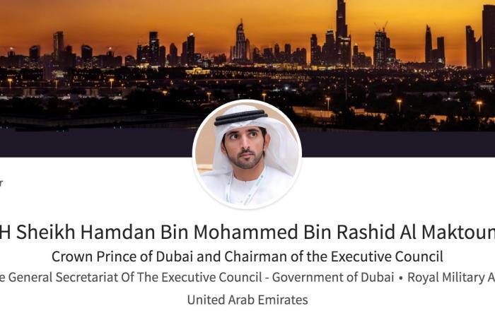 حمدان بن محمد ضمن قائمة أهم الشخصيات العالمية المؤثرة على لينكدإن