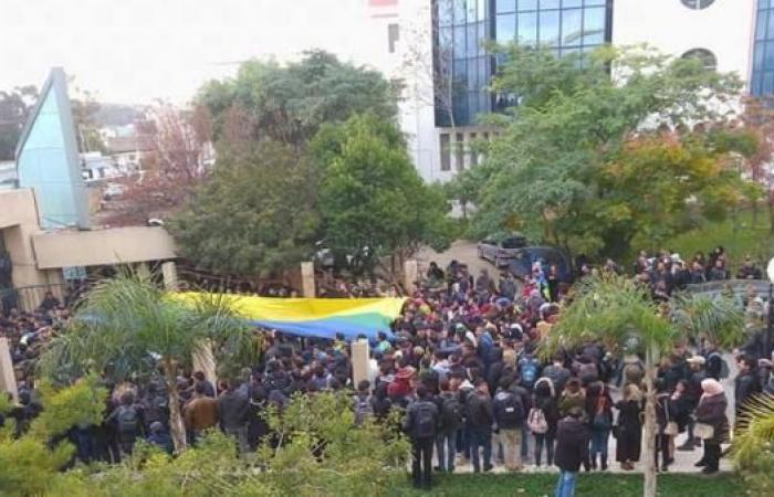 تعليق الدراسة بجامعة البويرة الجزائرية بعد مواجهات طلابية بسبب الأمازيغية