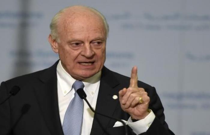 دي ميستورا: لتحقيق السلام يجب دفع النظام لقبول دستور جديد وانتخابات جديدة