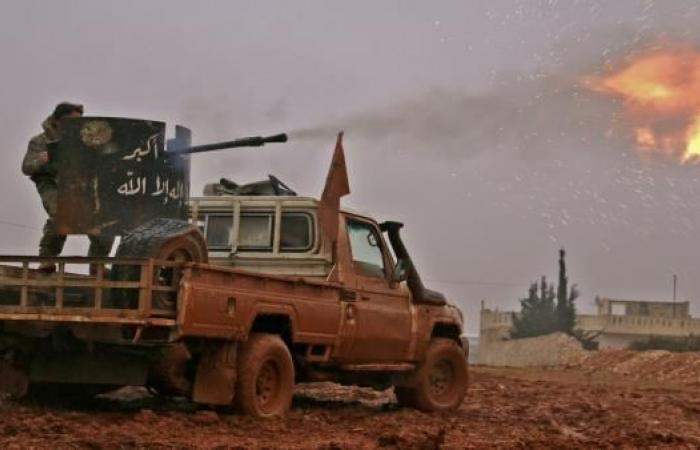 """المعارضة تصد قوات النظام بريف حماة و""""داعش"""" يتقدم بالبوكمال"""