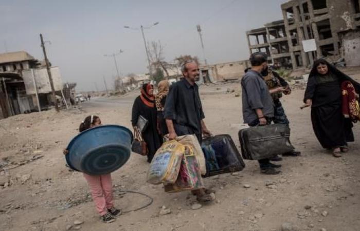 الموصل المحررة... خيار البيت المهدم أو المخيمات