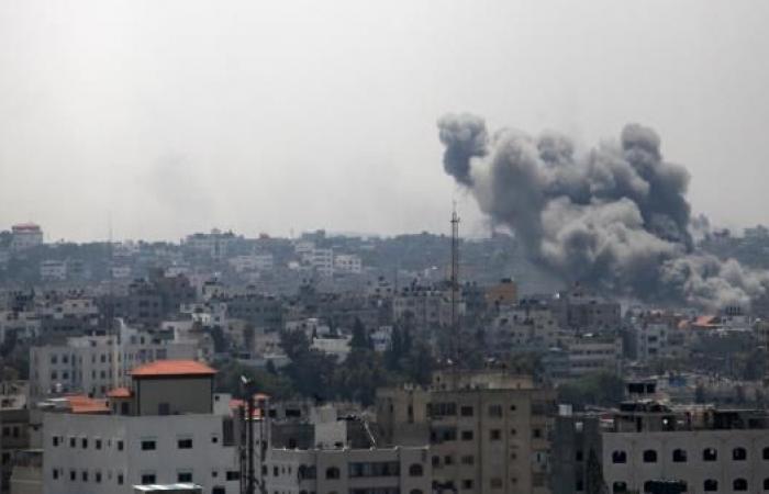 طائرات الاحتلال تقصف موقعاً للمقاومة جنوبي غزة