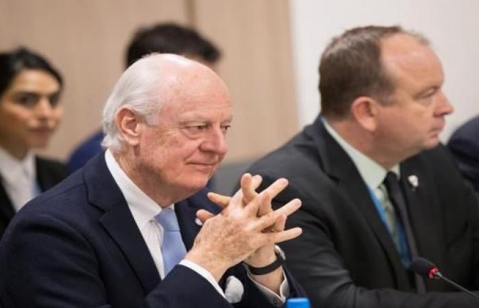 دي ميستورا: لم نحصل على مفاوضات حقيقية... ووفد النظام رفض المفاوضات المباشرة