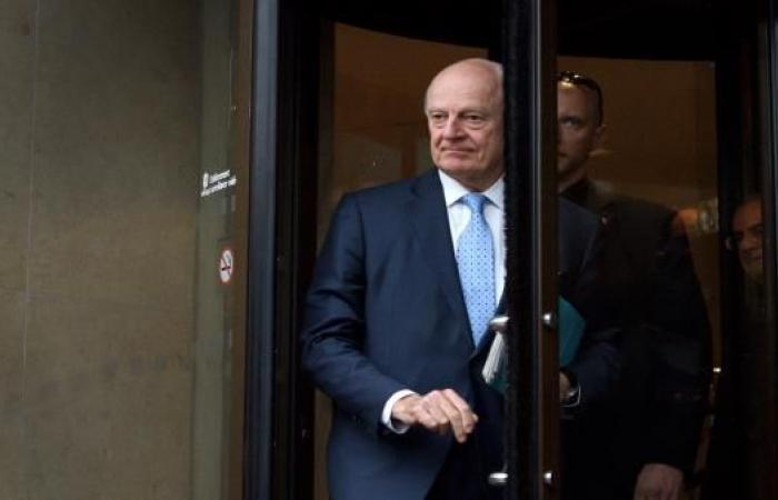 وفد المعارضة السورية يبحث مع دي ميستورا الانتقال السياسي بآخر أيام جنيف8