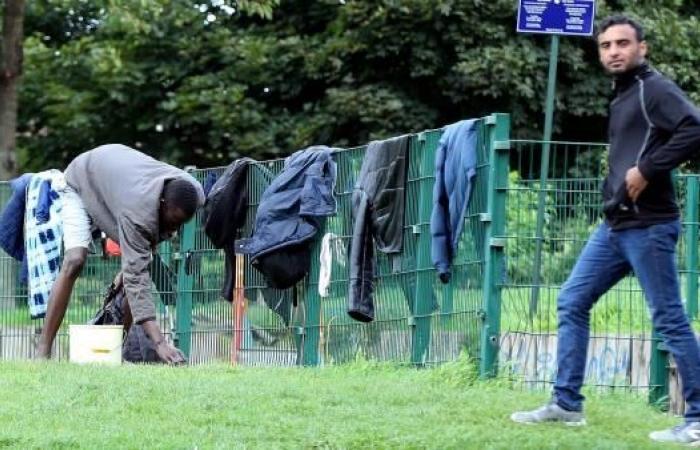 مهاجرون نزلاء في منازل بلجيكا