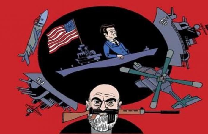 """""""أعداء حميمون"""": تاريخ أميركا والمشرق كتابة ورسماً"""