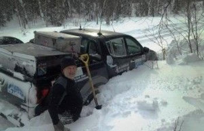 رحالة روسي يجوب القرى القطبية النائية