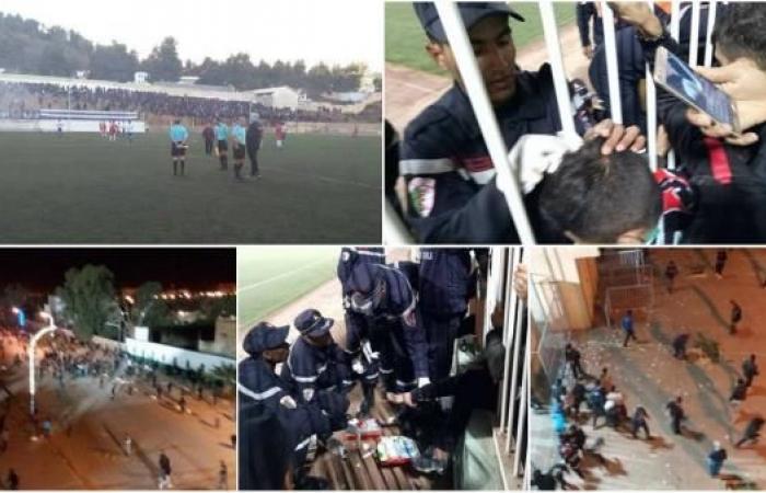 """""""الشغب"""" في الجزائر يودي بحياة مشجع وسقوط عشرات الجرحى"""
