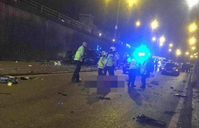 فيديو وصور.. 6 قتلى في حادث مرور مروع يهز بريطانيا