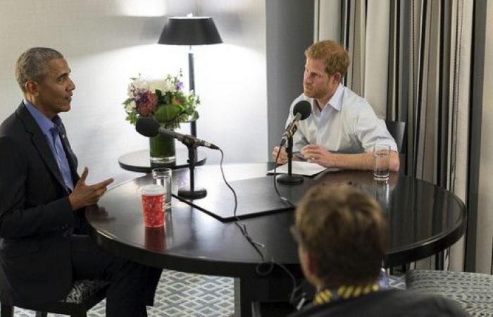 أوباما للأمير هاري: هل تحتاج لغتي لكنة بريطانية؟