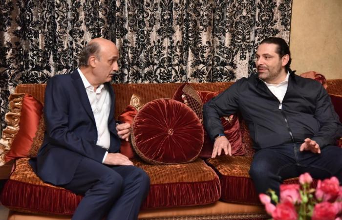 اتصالات لعقد لقاء جعجع والحريري