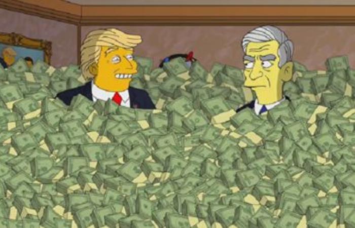 """""""عائلة سيمبسون"""" يتناول مزاعم التدخل الروسي في الانتخابات الأمريكية"""