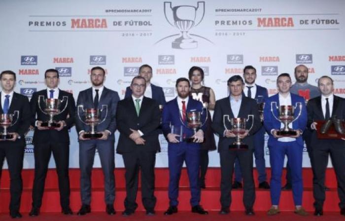 """جوائز ماركا لنجوم """"الليغا""""...غياب كامل للبطل ريال مدريد"""
