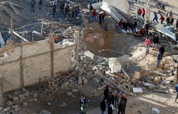 غارة إسرائيلية دمّرت 3 مبانٍ شمال غزة