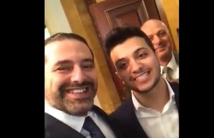 """بالفيديو: الحريري يغني """"هلا بالخميس"""""""