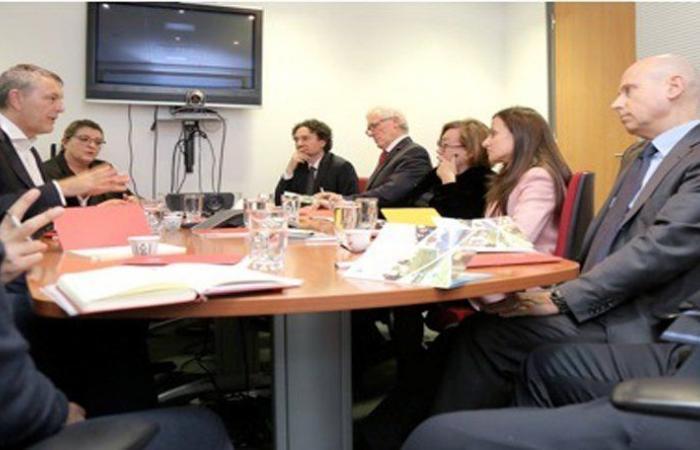 وفد من مجلس الشيوخ الايطالي زار لازاريني: مستمرون بدعم لبنان