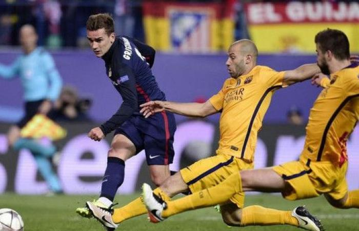 """أتليتكو مدريد يشكو برشلونة إلى """"فيفا"""" بسبب غريزمان"""