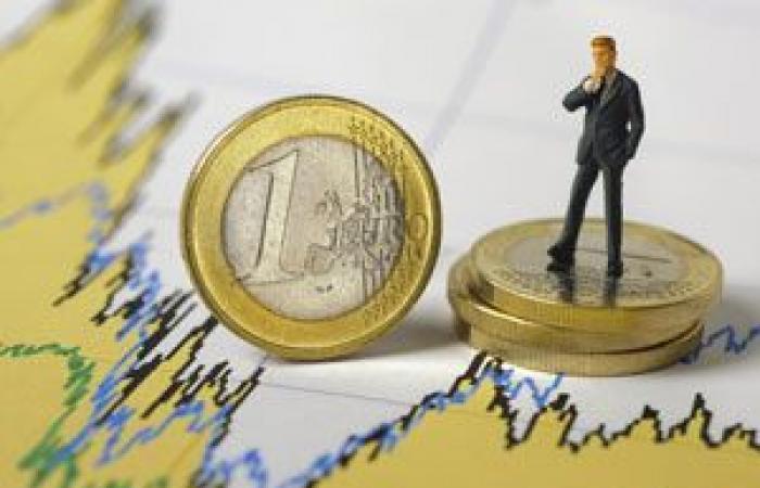 ارتفاع محدود في مستويات اليورو مع استمرار تأثره ببيانات التضخم