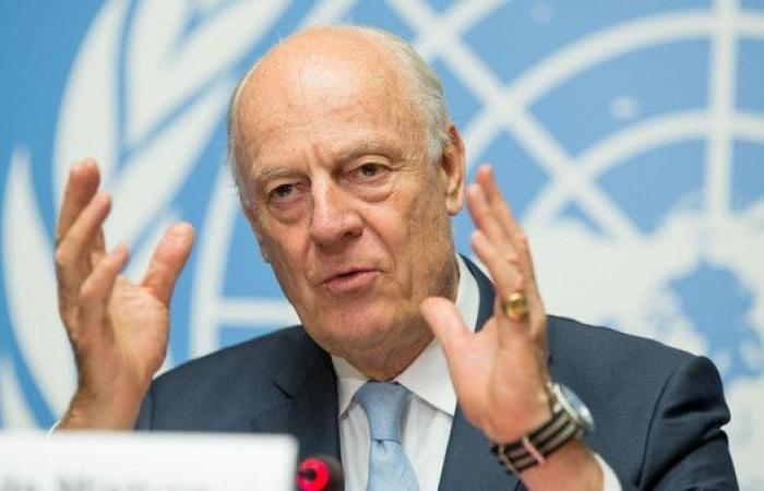 دي ميستورا ينوي اقتراح إصلاحات انتخابية ودستورية بسوريا