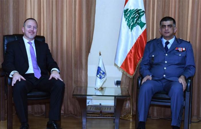 اللواء عثمان استقبل مدير مكتب مكافحة المخدرات وانفاذ القانون في السفارة الاميركية