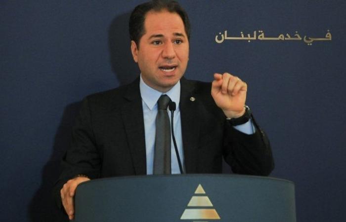 سامي الجميل اختتم محادثاته في باريس بلقاء لودريان: تشديد على دعم الجيش وقلق على السيادة والحريات في لبنان