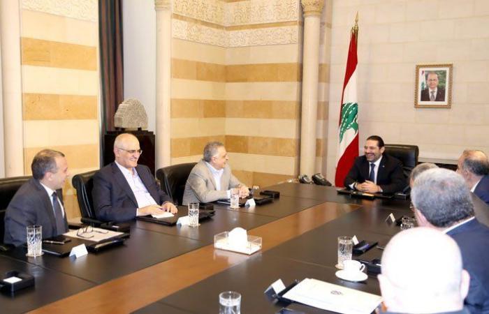 إجتماع للجنة الوزارية في السراي لتطبيق قانون الإنتخاب برئاسة الحريري