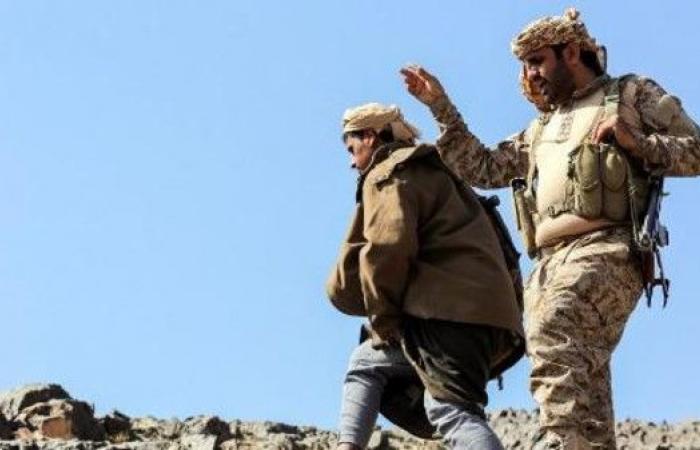 حسين الحوثي في قبضة الجيش اليمني