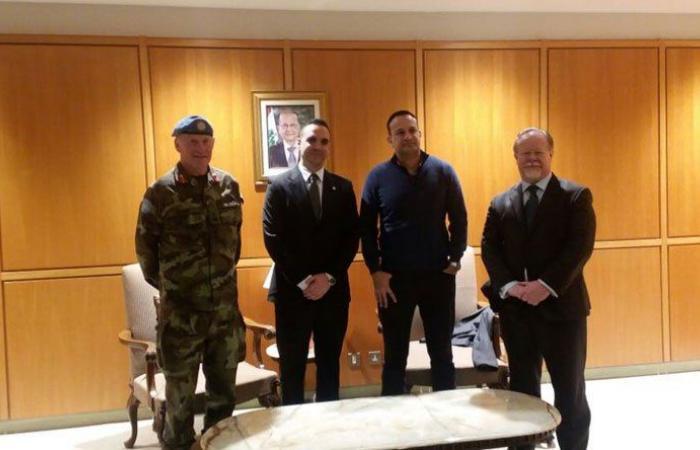 رئيس وزراء ايرلندا وصل الى لبنان لتفقد وحدة بلاده في اليونيفيل