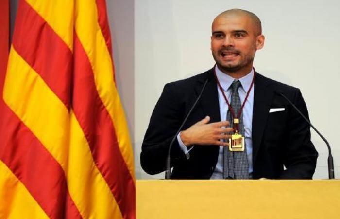 الحكومة الإسبانية تلاحق غوارديولا بسبب كتالونيا