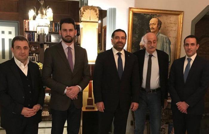 لقاء جنبلاط والحريري يفتح الباب على تحالف انتخابي
