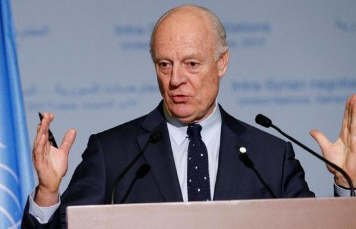 دي ميستورا: جولة جديدة من المحادثات السورية في يناير