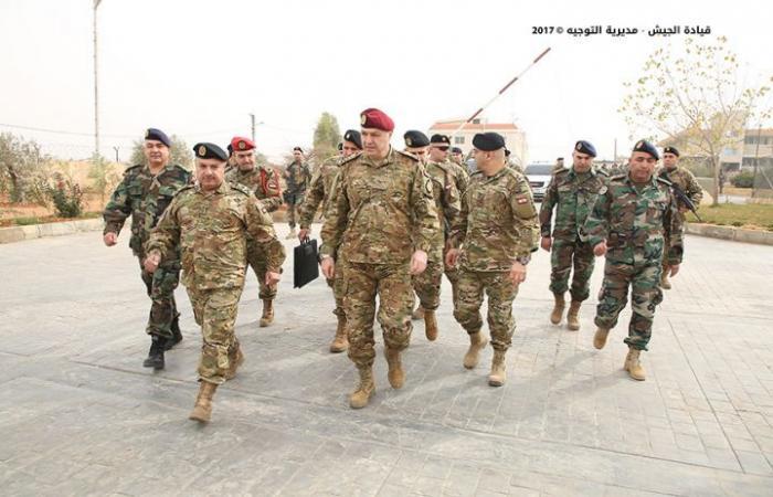 بالصور- العماد عون: لا مجال للإخلال بالأمن والجيش بجهوزية كاملة لمواجهة أيّ تهديدات