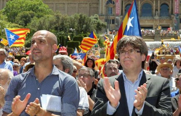 شرطة إسبانيا تستجوب غوارديولا عشية مباراة الكلاسيكو