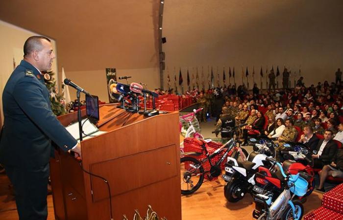 احتفال تكريمي لأبناء العسكريين الشهداء برعاية قائد الجيش