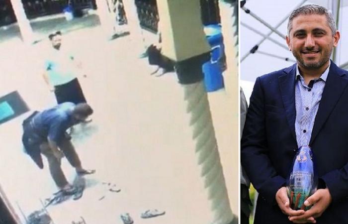 فيديو لأسترالي يضرب مسلما في المسجد رفض الحديث عن القدس