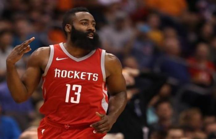 هاردن يدخل تاريخ هيوستن في الدوري الأميركي لكرة السلة