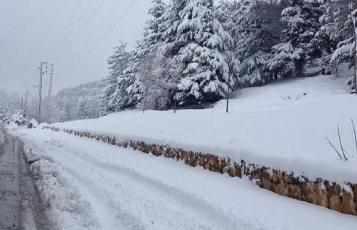 … وأتى الثلج… ما هي حال الطرقات الجبلية؟