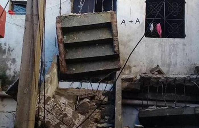 إنهيار جزء من سقف منزل في كفرشلان الضنية ولا إصابات