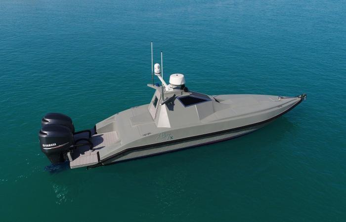 B7X أول قارب بدون سائق ثنائي الاستخدام في العالم يتم إنتاجه لأغراض تجارية