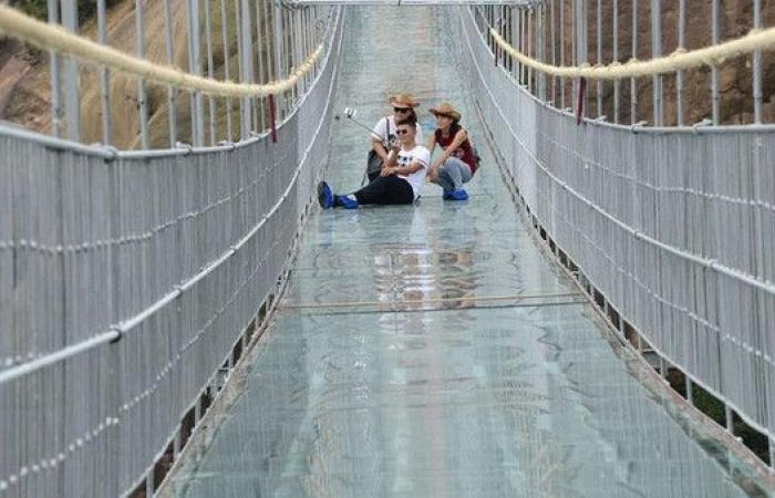 شاهد جسر الرعب الأطول على الإطلاق